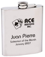 Logo Personalized Flask