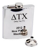 Greek Personalized Flask